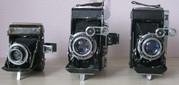 антикварные фотоаппараты