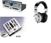 Продаю DJ комплект : 2-х карманный CD Gem Sound cd 60,  микшерный пульт