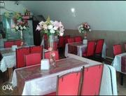 Продам столы стулья, посуду для столовой