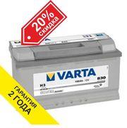 Аккумулятор VARTA (Германия) 100Ah для Mercedes-Benz Gelenvagen
